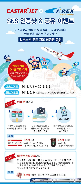 서울역 도심공항터미널 X 이스타항공 프로모션