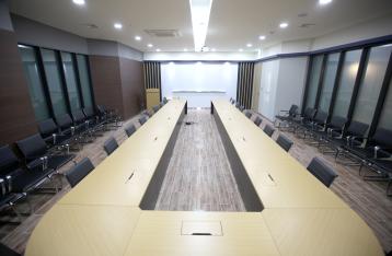 AREX-6 회의실 실내 사진 이미지 입니다.