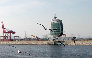 경인항통합운영센터 전경 사진 이미지입니다.