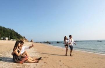 용유해변 미팅사진 이미지입니다.