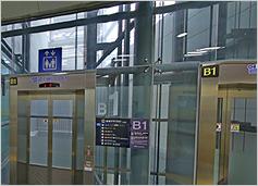 공항철도 서울역 지하1층 사진입니다.