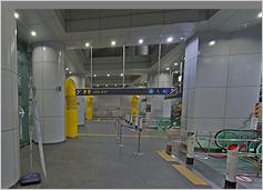 공항철도 서울역 지하6층 사진입니다.